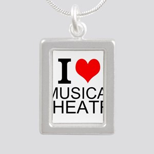 I Love Musical Theatre Necklaces