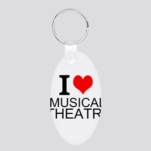 I Love Musical Theatre Keychains