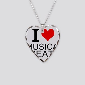 I Love Musical Theatre Necklace