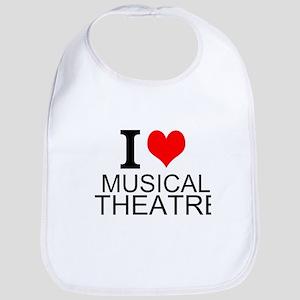 I Love Musical Theatre Bib