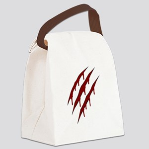 wolverine attack Canvas Lunch Bag