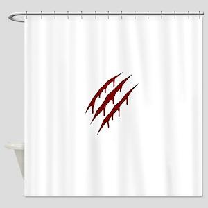 wolverine attack Shower Curtain