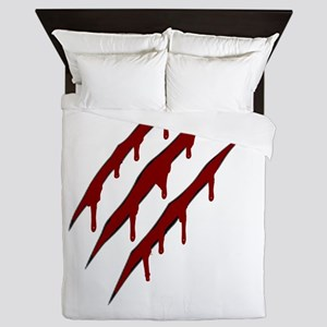 wolverine attack Queen Duvet