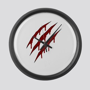 wolverine attack Large Wall Clock