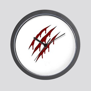 wolverine attack Wall Clock