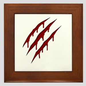 wolverine attack Framed Tile