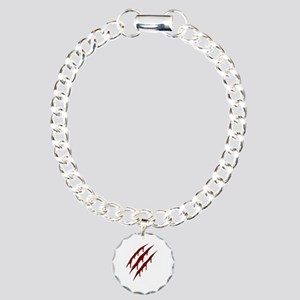 wolverine attack Charm Bracelet, One Charm