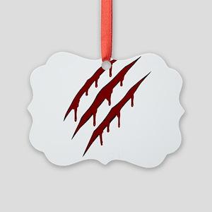 wolverine attack Picture Ornament