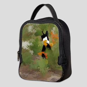 Rafiki in flowers Neoprene Lunch Bag