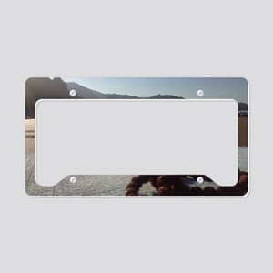 morning meditation License Plate Holder