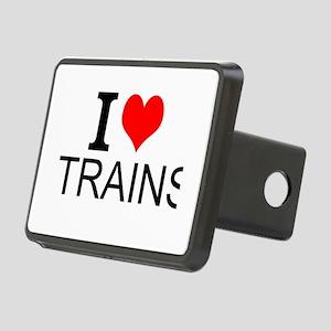 I Love Trains Hitch Cover