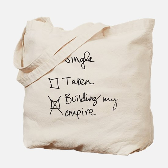 Funny Funny relationship Tote Bag