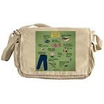 superhero Messenger Bag