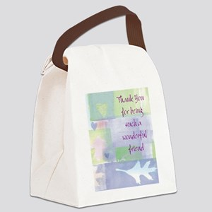 Friend101 Canvas Lunch Bag