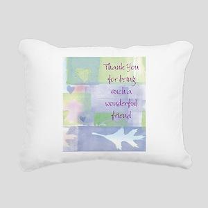 Friend101 Rectangular Canvas Pillow