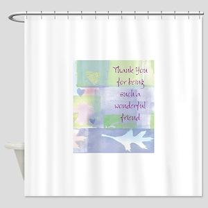 Friend101 Shower Curtain