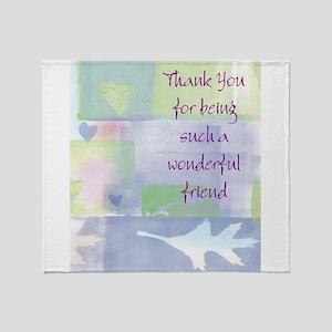 Friend101 Throw Blanket