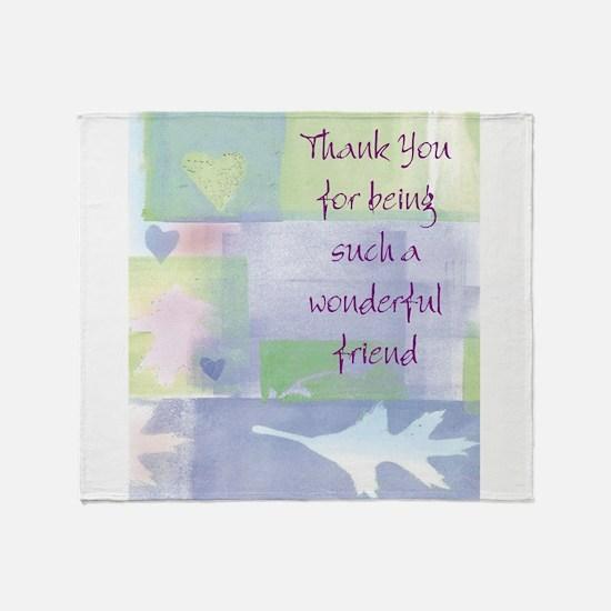 Friend101.jpg Throw Blanket