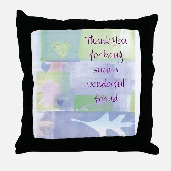 Friend101.jpg Throw Pillow