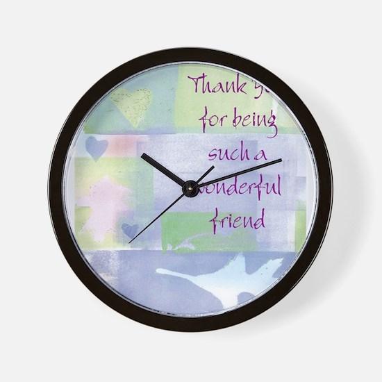 Friend101.jpg Wall Clock