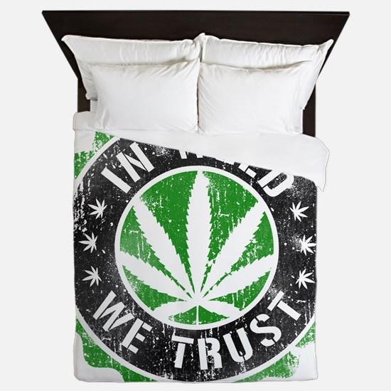 Cute Legalise Queen Duvet