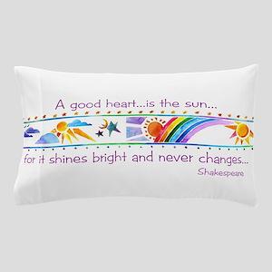 A good heart Pillow Case
