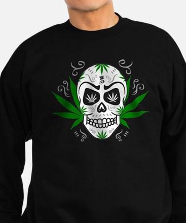 Cute Weed Sweatshirt (dark)
