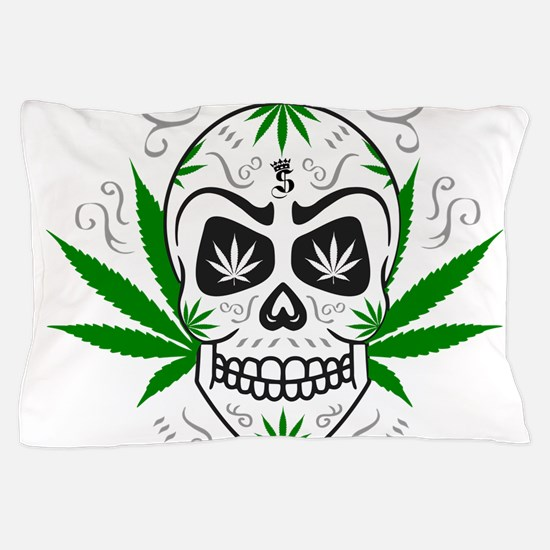 Funny Cannabis Pillow Case