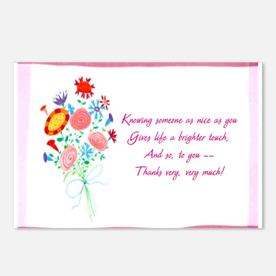 Thanks1a.jpg Postcards (Package of 8)