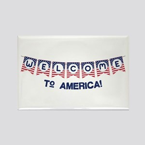 Welcome to America Magnets