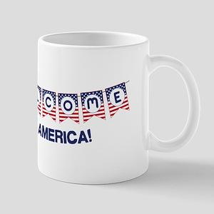 Welcome to America Mugs