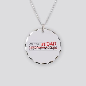 Job Dad Physician Asst Necklace Circle Charm