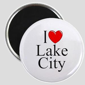 """I Love Lake City"" Magnet"