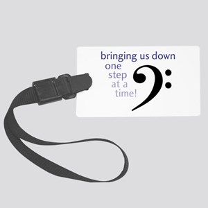 One Step at a Time! Luggage Tag