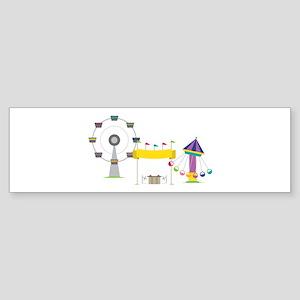 Amusement Park Bumper Sticker