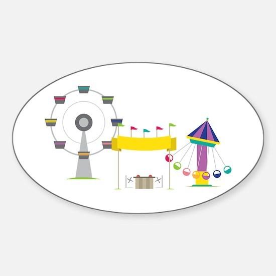 Amusement Park Decal