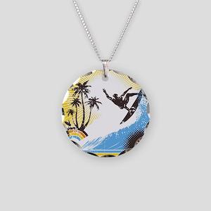 Retro Surfer Necklace