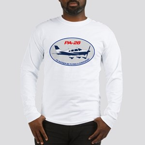 Id Rather be Flying a Cherokee! Long Sleeve T-Shir