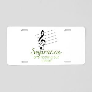 Sopranos Aluminum License Plate