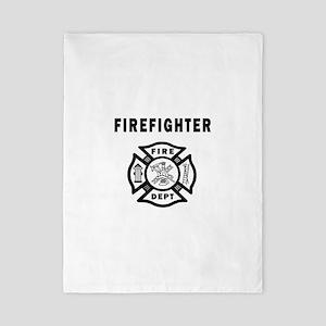 Firefighter Fire Dept Twin Duvet