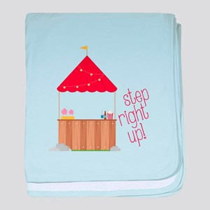 Step Right Up baby blanket