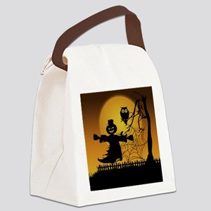 Spooky Halloween 5 Canvas Lunch Bag