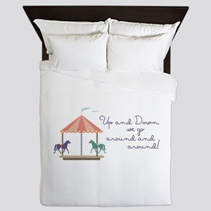 Up and Down Queen Duvet
