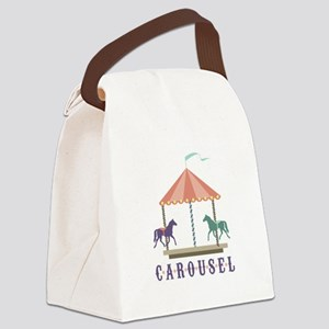 Carousel Canvas Lunch Bag