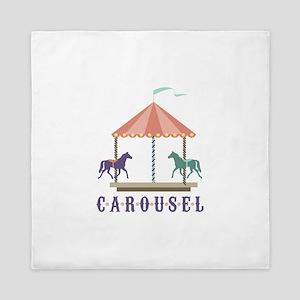 Carousel Queen Duvet