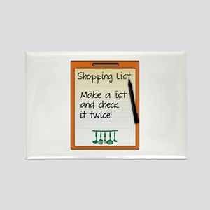 Shopping List make a list and check it twice! Magn
