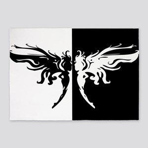 Wings 5'x7'Area Rug
