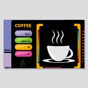 Star trek coffee Sticker