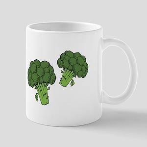Christmas Broccoli Mugs