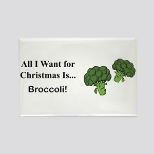 Christmas Broccoli Magnets